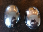 Original Figaro Chrome Mirror Covers